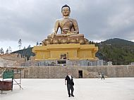 The world's largest sitting Buddha