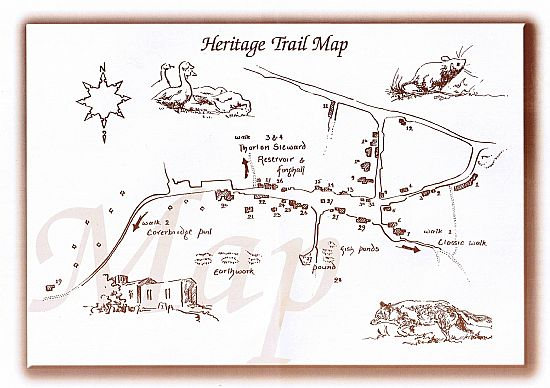 click here to display a large version of this heritage trail map