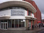 Set off from Gateshead Interchange