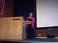 Guest Speaker Marylin Armstrong (Alnwick)