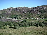 Glenuig from above the Inn