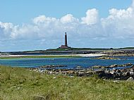 Monach Island lighthouse