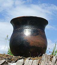 Large Urn - upward view