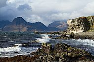The village of Elgol, gateway to the Cuillin