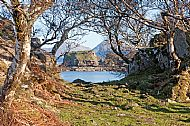 The ruins of Dunscaith Castle at Tokavaig