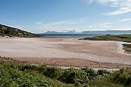 Sand Bay near Applecross looking towards Skye