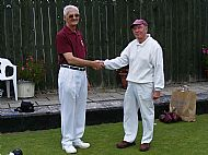 Hugh Morgan and Cliff Hyde - Champions of Champions Finalists