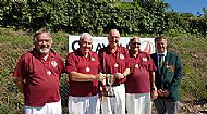 County over 60s Fours Winners