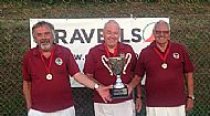 County over 60s triples winners