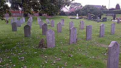 caister new cemetery