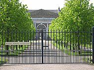 Gates closed