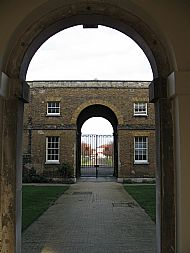 Gateway from Great Court
