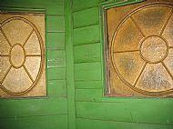 Clocktower fibreglass panels
