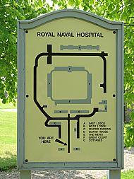 Plan of Royal Naval Hospital