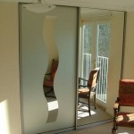 Etched Mirror Doors