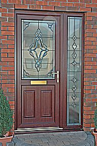uPVC New World Door