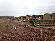 Public beach litter pick organised by Horizon group -- 07 April 2019. Photo by Julie Lomax.
