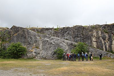 great scar limestone at ingleton