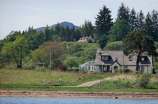 picture all of bays and bens holiday lets, cottages and mobile homes from loch etive, taynuilt, oban, argyll, scotland