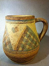 Folkweave Pitcher