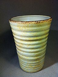Old Ivory vase