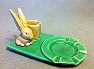 Harry the Hare Ashtray/Match Holder