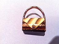 Vintage Handbag brooch