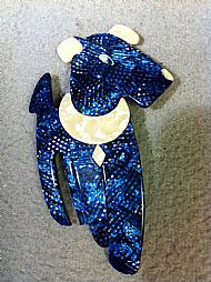 Ric the Terrier brooch