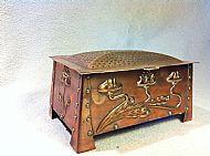 Art Nouveau Copper Box