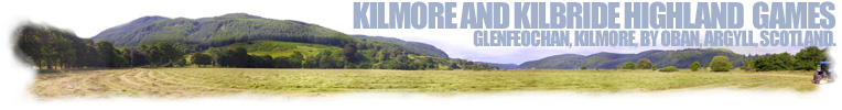 Kilmore and Kilbride Highland Games, Kilmore, Argyll, Scotland
