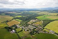 Aerial view of Munlochy  taken 20 07 10