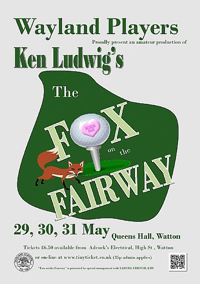 fox on the fairway by ken ludwig.