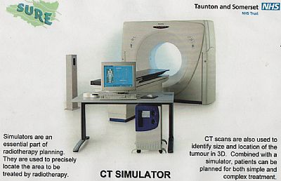 big bore ct scanner/simulator