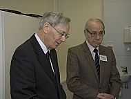 Eric presented to the Duke of Gloucester in 2010
