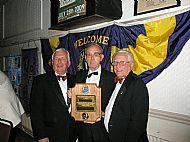 Eric made Lions Melvin Jones Fellow in 2009
