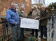 Bishops Lydeard and Rural Life Museum - Cheque Presentation