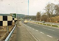 A 74 / A 70 Junction before motorway was built