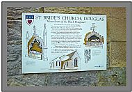 St Brides visitor plaque