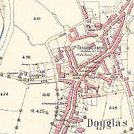 Early Map of Douglas