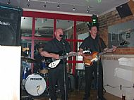 Playing bass with The Steve Love Band @ The Regent Hotel 2004!