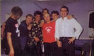 Buskateers appearing with Mungo Jerry @ Wycombe Wanderers Football Ground 1996!