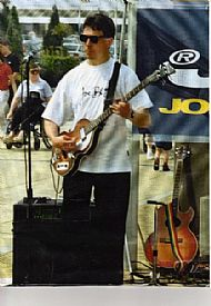 Sponsored gig @ Yorkshire Outlet Shopping Precinct 1996