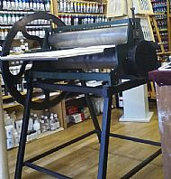 Secondhand etching press