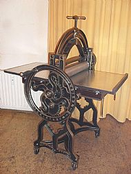 Antique A1 Etching Press