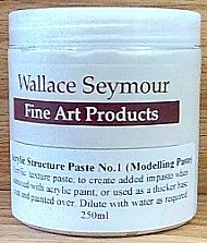 Acrylic Structure Paste No.1 250ml (Modelling Paste)
