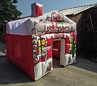 Inflatable Santa Grotto