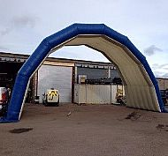 Inflatable Stage Cover - 15m