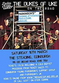 The Dukes of Uke on the Road for Parkinsons
