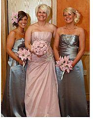 Kirsty's bridesmaids