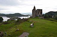 view of tarbert castle